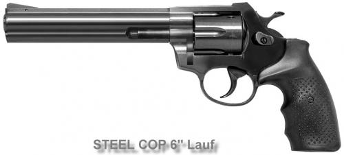 STEEL COP Full Steel Revolver 9mmR Blank