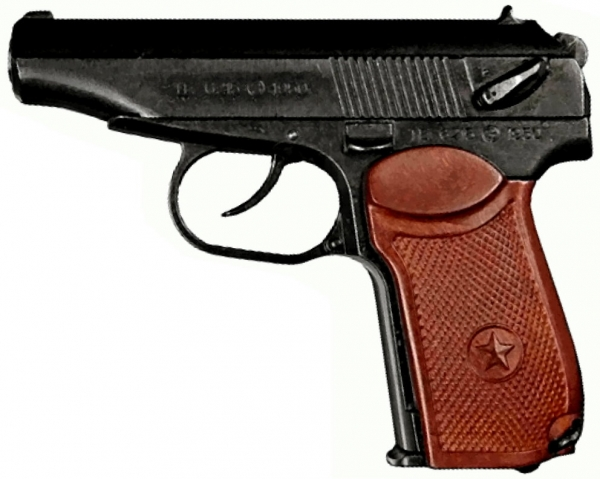Makarov full metal model gun