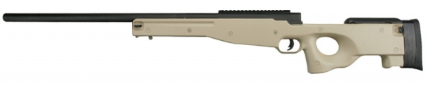 L96 MB-System Bolt Action TAN 6mm Air Rifle