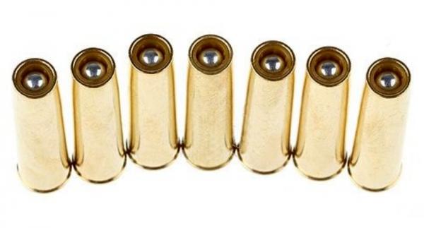 7 Reservehülsen für Nagant M1895 Revolver 4,5mm