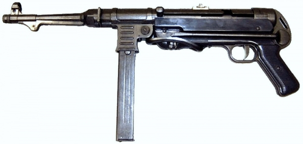 WH MP40 Modellwaffe aus Metall