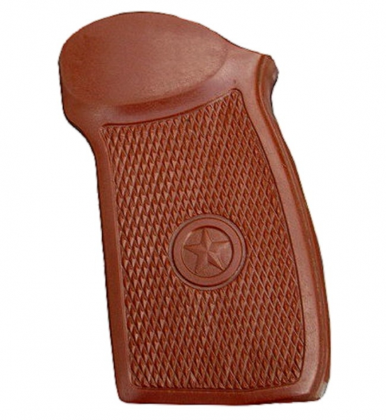 Grip brown for Makarov PMM 9mm & CO2 Pistol MP654K