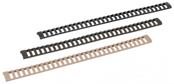 GERMANTAC Ladder Rail Cover 3er Set schwarz für Picatinny Schienen