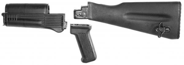 AK47 / AKM / AK74 Saiga Cugir Schaftsatz aus Polymer