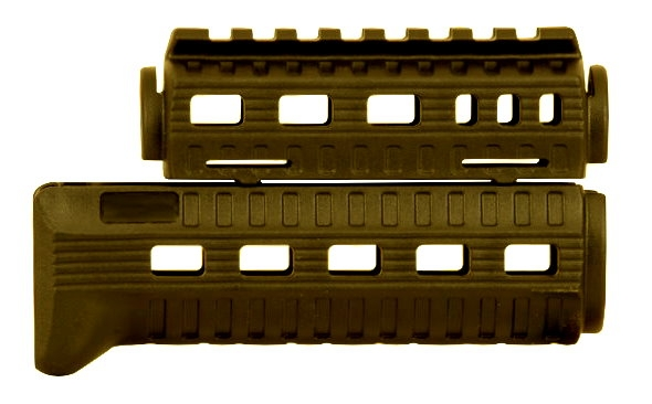 GERMANTAC R.I.S. Handguard OD-Green for AKSU AK74SU