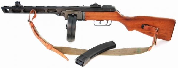 PPSH 41 Spagin originale MP deaktiviert TOP DEKO