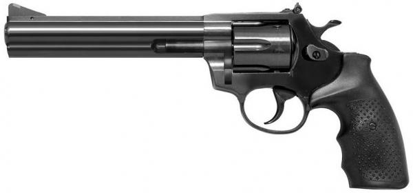STEEL COP 6'' TAC Vollstahl Revolver 9mm R Knall
