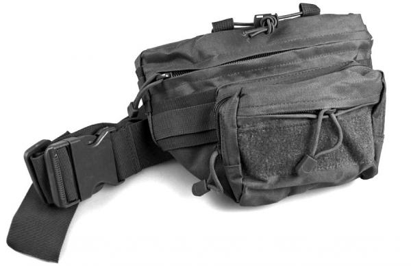 Tactical Beltbag Holster Pistol Pouch black