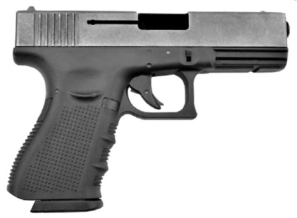 BLACK WOLF 9mm PAK Blank Firing Gun