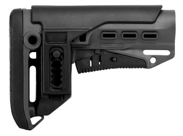 GERMANTAC Mil.-Spec. Stock black for Shotgun, AR15, AK47 and more