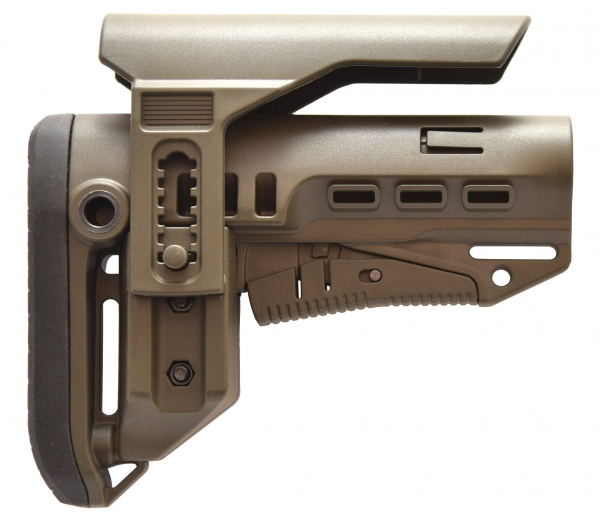 GERMANTAC Commercial Stock TAN for Shotgun, AR15, AK47 and more