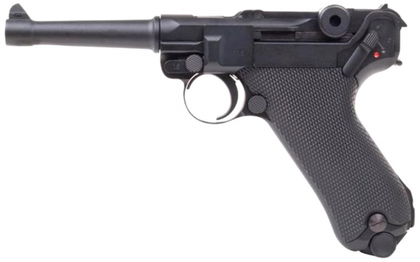 Parabellum P08 4,5mm Stahl-BB CO2 BlowBack