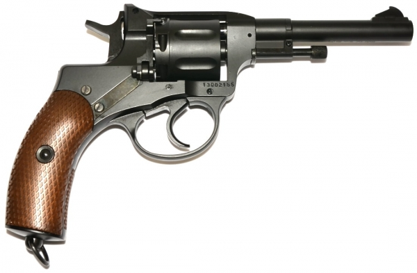 Nagant M1895 Revolver 6mm CO2 Belgian Legend