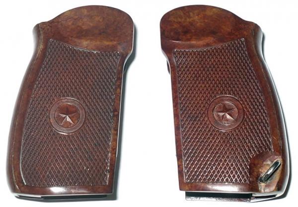 Griffschallen aus Bakelit für Makarov MP654K