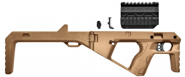 BGSW TAC BULLPUP Kit TAN for STEEL WOLF & BG17 & BG26 & GAP & MiniGAP