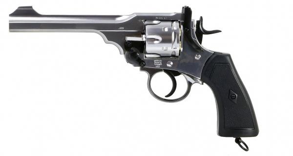 Webley .455 MK VI Service Revolver - CO2 4,5mm CHROM