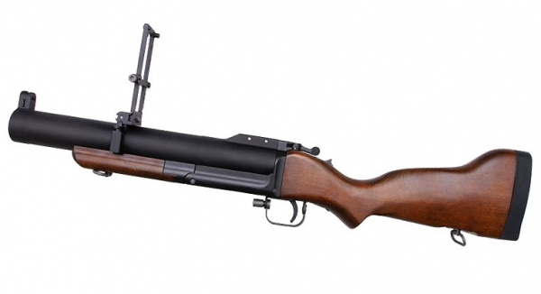 M79 CNC Modelgun Grenade Launcher with Airsoft function