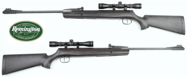 REMINGTON AIR RIFLE .177 4,5mm, BLACK