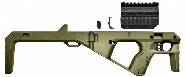 BGSW TAC BULLPUP Kit OD für STEEL WOLF & BG17 & BG26 & GAP & MiniGAP