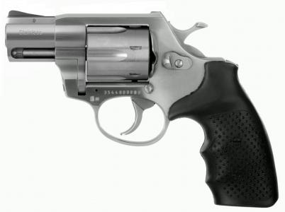 STEEL COP-S 2'' Edelstahl Revolver 9mm R Knall