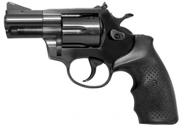 STEEL COP 2'' TAC GB Vollstahl Revolver 9mm R Knall-Copy