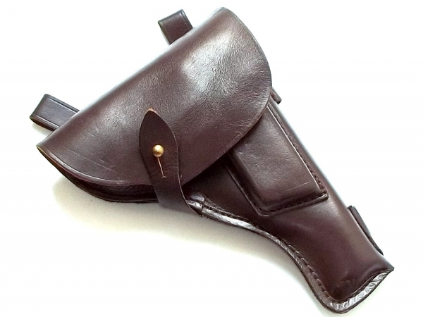 Original leather holster for TT33 Tokarev pistol
