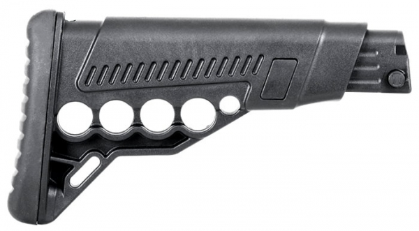 GERMANTAC Collapsible Stock in black for Shotguns