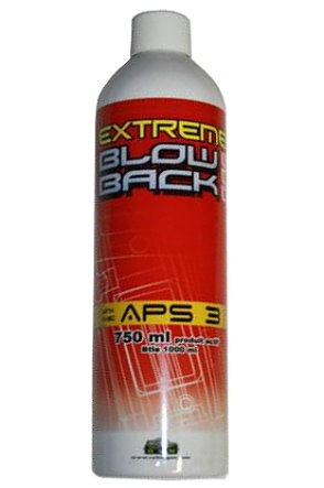 Extreme Red Powergas 750ml for Airsoft Guns